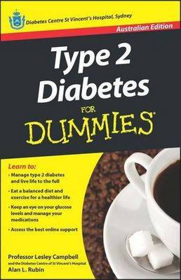 Type 2 Diabetes For Dummies by Lesley Campbell image