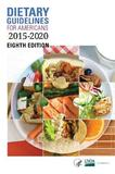 Dietary Guidelines for Americans 2015-2020 by Department of Health and Human Services