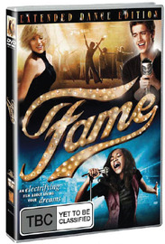 Fame: The Extended Version on DVD image