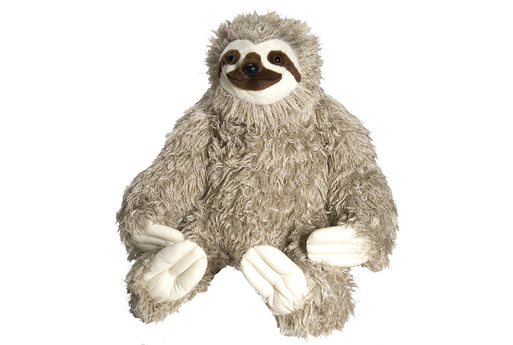 Cuddlekins: Jumbo Sloth - 30 Inch Plush image