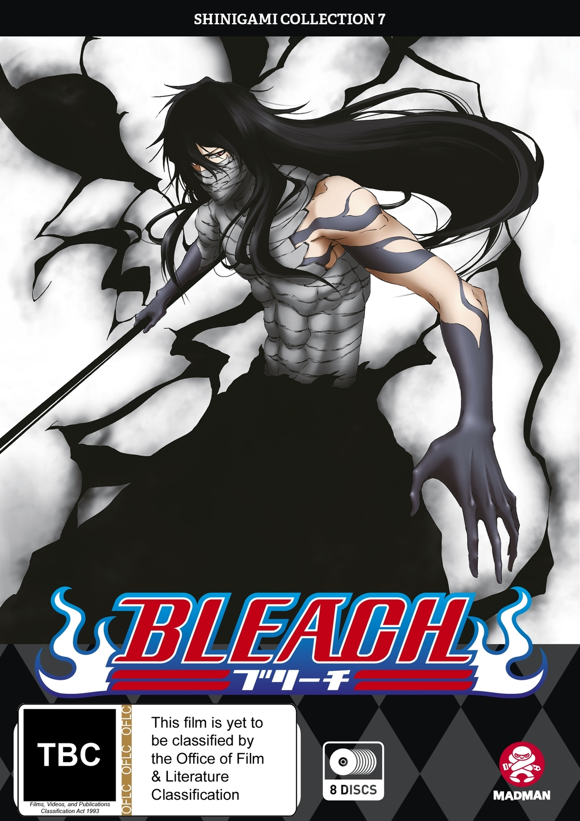 Bleach Shinigami - Collection 07 (Eps 268-316) on DVD image