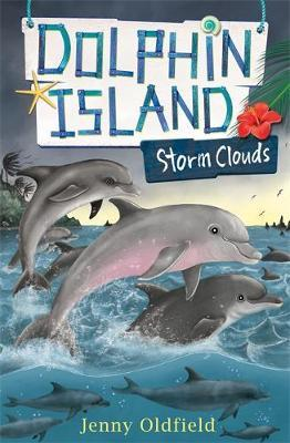 Dolphin Island: Storm Clouds by Jenny Oldfield image