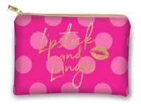 Lady Jayne Glam Cosmetic Bag - Lipstick And Lunges
