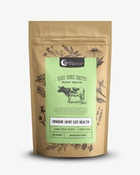 Nutra Organics Beef Bone Broth - Garden Herb (100g)