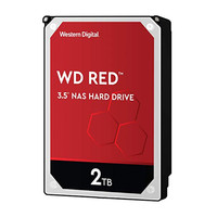"""2TB WD Red 3.5"""" HDD 5400 RPM"""