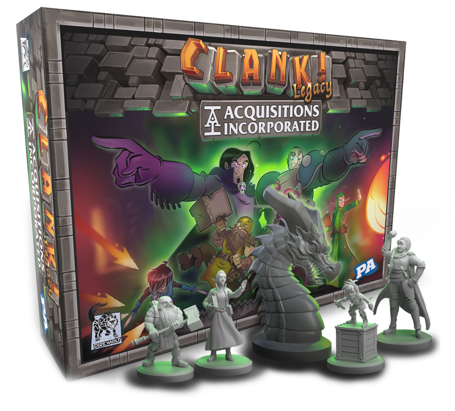 Clank! Legacy: Acquisitions Incorporated - Board Game image