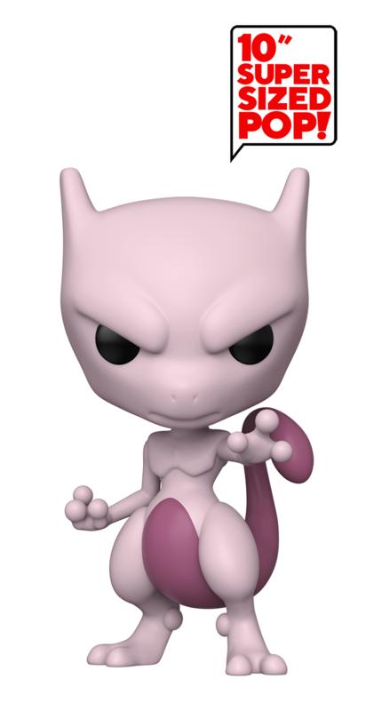 "Pokemon: Mewtwo - 10"" Super Sized Pop! Vinyl Figure"