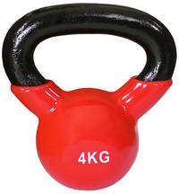 Team Sports: Vinyl Coated Kettlebell - 4Kg image