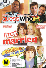 Guess Who / Just Married / Dude, Where's My Car? (3 Disc Set) on DVD image