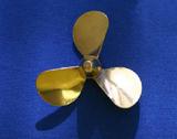"""Bronze 2"""" Propeller 3 Blade - Left"""