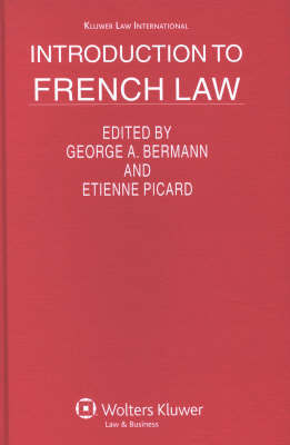 Introduction to French Law by E. Picard image