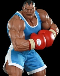 Street Fighter Balrog 1/4 Statue