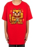 Minecraft - Lucky Ocelot Youth T-shirt (Large)