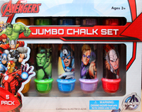 Marvel: Avengers Boxed Chalk Holder - 5pc