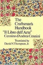 Craftsman's Handbook by Cennio D'Andrea Cennini image