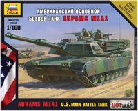 Zvezda 1/100 US M1A1 Abrahms