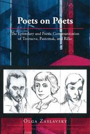 Poets on Poets by Olga Zaslavsky image