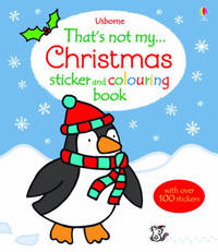 That's Not My Christmas Sticker and Colouring Book by Fiona Watt