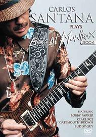 Carlos Santana Plays Blues At Montreux 2004 on DVD image