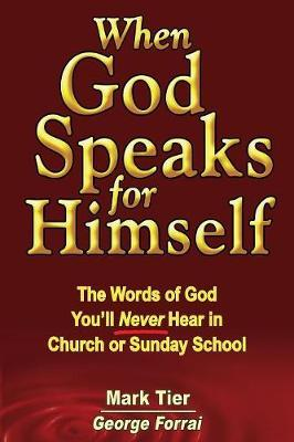 When God Speaks for Himself by Mark Tier image