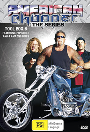 American Chopper: The Series - Tool Box 6 (Discovery Channel) on DVD image