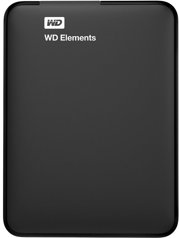 1TB WD Elements Portable Harddrive