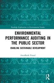 Environmental Performance Auditing in the Public Sector by Awadhesh Prasad