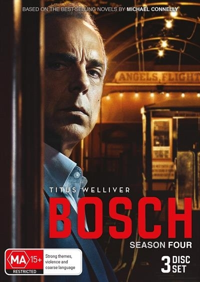 Bosch Season 4 on DVD image