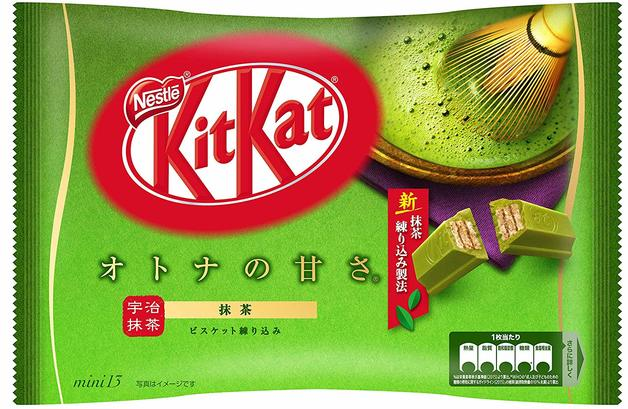 KitKat Mini Share Pack - Matcha Green Tea (Otona no Amasa Uji Maccha Kitto Katto)