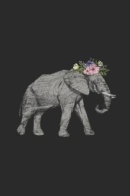 Elephant With Flowers by Elephant Publishing