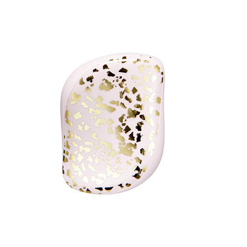 Tangle Teezer: Compact Styler - Pale Pink/Gold Leaf image