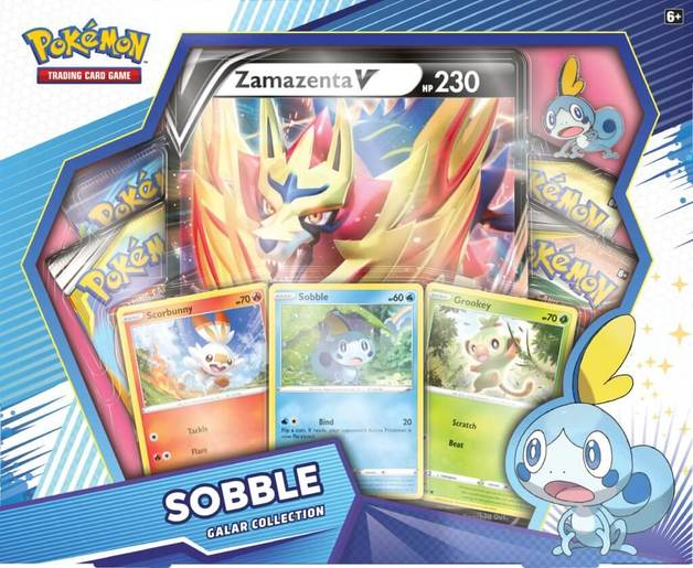 Pokemon TCG: Sobble Zamazenta V