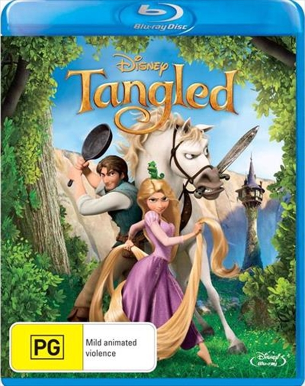 Tangled on Blu-ray