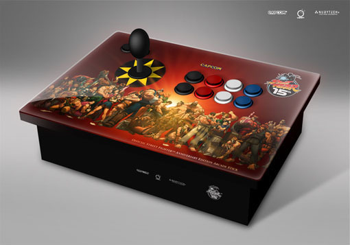 Street Fighter Anniversary Edition Arcade Stick for PlayStation 2