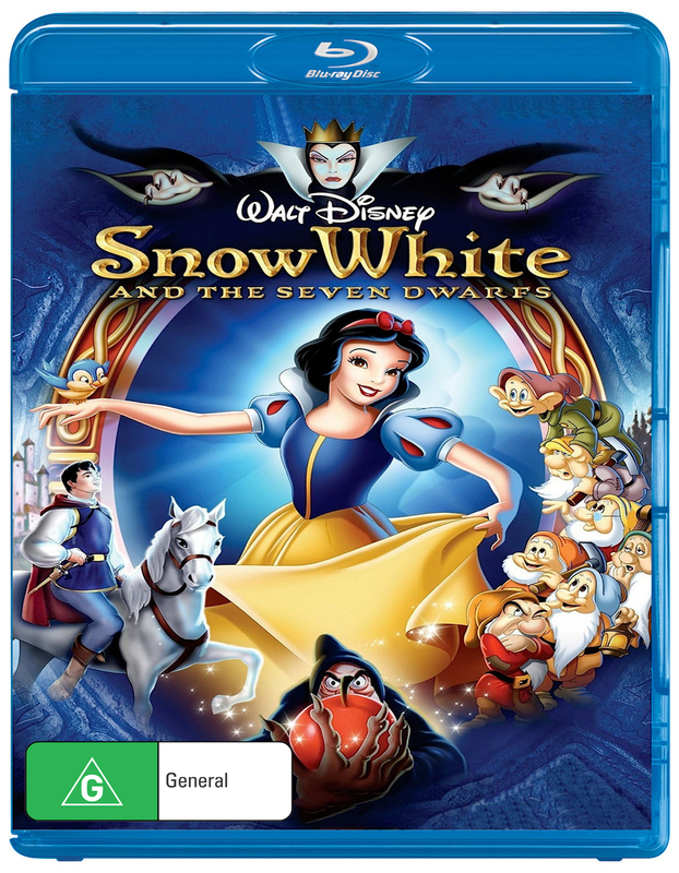 Snow White and the Seven Dwarfs on Blu-ray