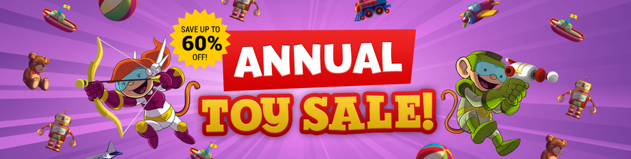 July Toy Sale