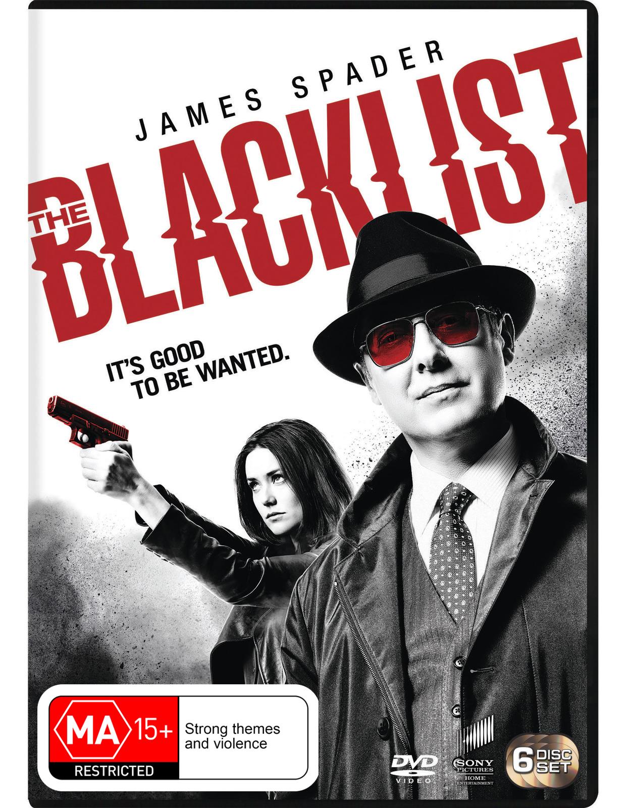 The Blacklist Season 3 on DVD image