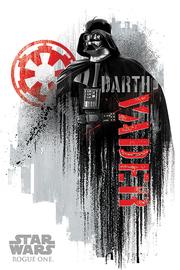 Star Wars Rogue One - Darth Vader Grunge Maxi Poster (590)