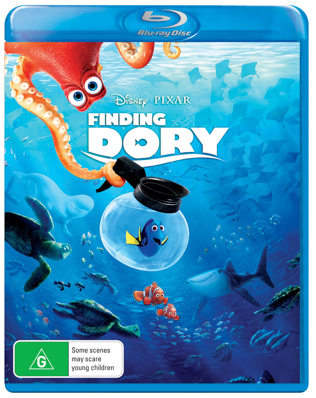 Finding Dory on Blu-ray image