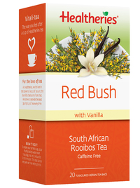 Healtheries Red Bush Rooibos with Vanilla Tea (Pack of 20) image