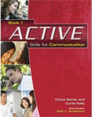 ACTIVE Skills for Communication 1 by Curtis Kelly image