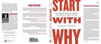 Start with Why: How Great Leaders Inspire Everyone to Take Action by Simon Sinek image