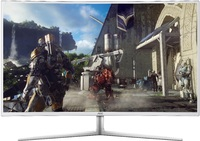 "40"" AOC UHD 60hz 5ms Curved Monitor with 10-Bit Colour"