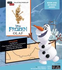 "IncrediBuilds: Disney Frozen ""Olaf"" 3D Wood Model And Book"