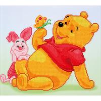 Diamond Dotz: Disney Facet Art Kit - Pooh with Piglet (36 x 32cm)