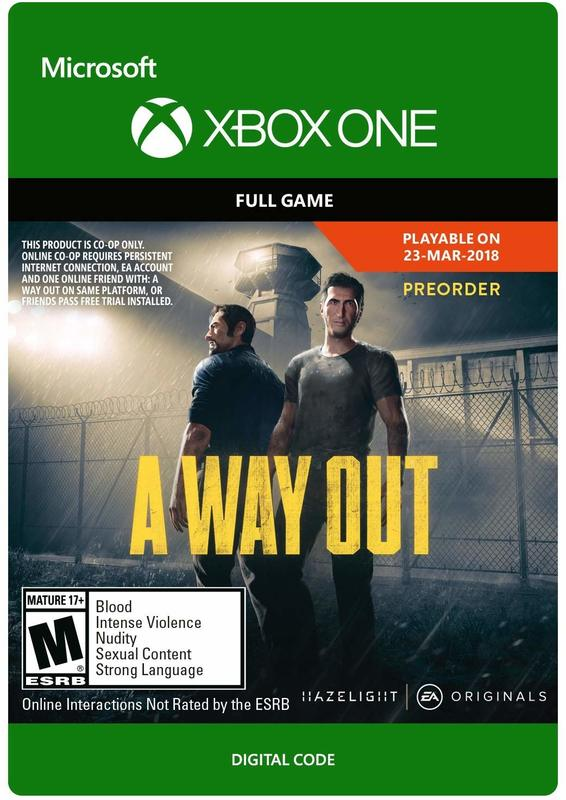 A Way Out (Digital Code) for Xbox One