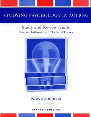 Psychology in Action: Study Guide by Karen Huffman image