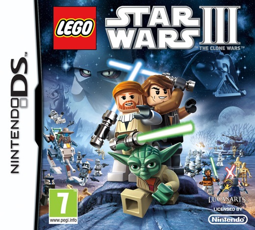 Lego Star Wars III: The Clone Wars for Nintendo DS image