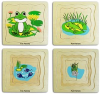 Fun Factory: Frog Layer Puzzle