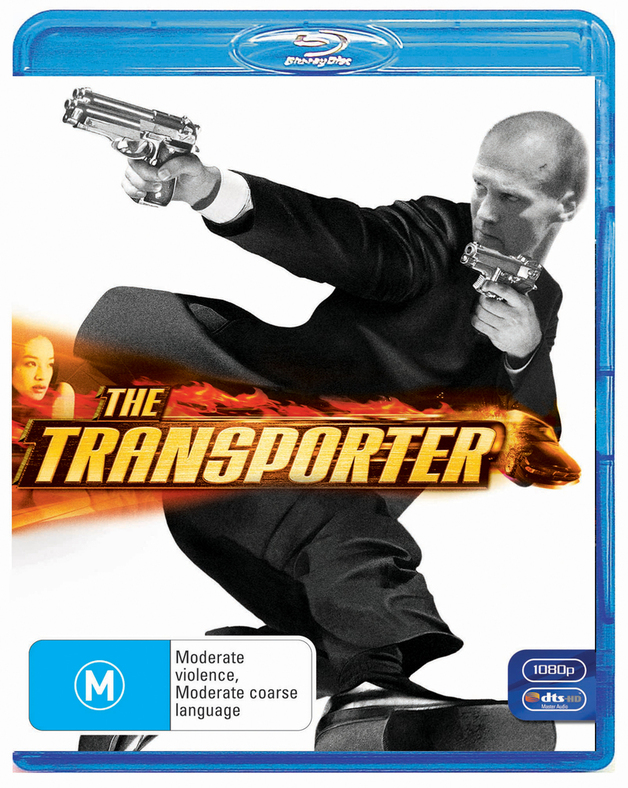 The Transporter on Blu-ray